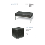 Panca night - pouf quadro