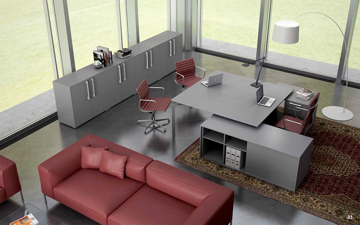 Arredo Ufficio Grigio : Mobili ufficio arredions